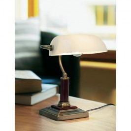 Bankéřská lampa na stůl