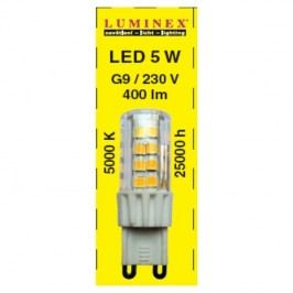 LED G9 5W 5000K  L 51589
