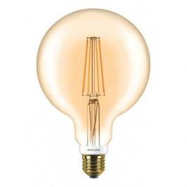LED Filament E27, 6W Globe stmívatelná Philips D 7-50W G120 GOLD 8718696575772