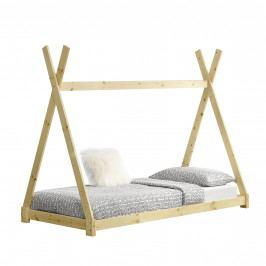 [en.casa]® Dětská postel AAKB-8675