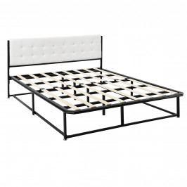 [en.casa]® Kovová postel AANB-0701 - 140 x 200 cm