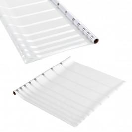 Privátní fólie na sklo - statická - 67,5cmx50m - proužky