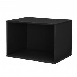 Variabilní designový systém - skříňky / poličky - 45x30x30 cm - černé