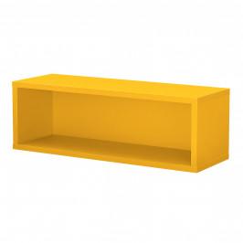 Variabilní designový systém - skříňky / poličky - 45x15x15 cm - hořčicově žluté