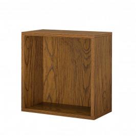 Variabilní designový systém - skříňky / poličky - 30x30x15 cm - imitace ořechového dřeva