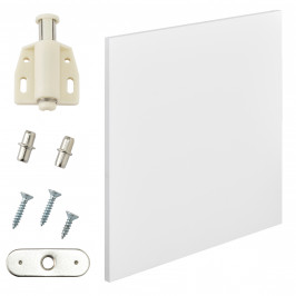 Variabilní designový systém - dvířka - 42x42 cm - bílé