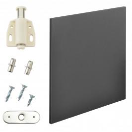 Variabilní designový systém - dvířka - 42x42 cm - šedé