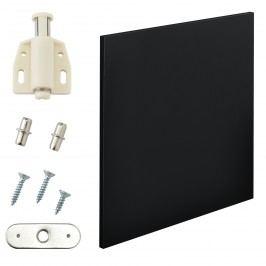 Variabilní designový systém - dvířka - 42x42 cm - černé