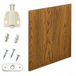 Variabilní designový systém - dvířka - 42x42 cm - imitace ořechového dřeva