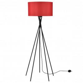 Elegantní stojací lampa - Red Mikado 1 x E 27 - 60W - červená / černá