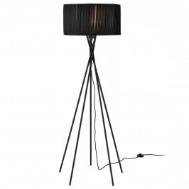 Elegantní stojací lampa - Black Mikado 1 x E 27 - 60W - černá
