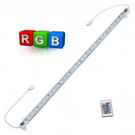 Hliníková LED lišta – pro nepřímé osvětlení - 1 x 50cm - barevný RGB