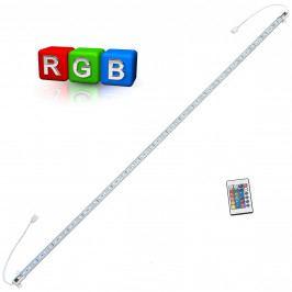 [in.tec]® Hliníková LED lišta – pro nepřímé osvětlení - 1 x 100cm - barevný RGB