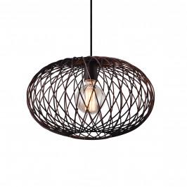 Dekoratívní designové závěsné svítidlo / stropní svítidlo - bronz (1 x E27)