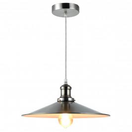 Dekoratívní designové závěsné svítidlo / stropní svítidlo - stříbrno-bílé (1 x E27)