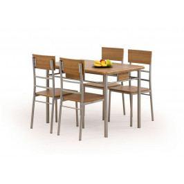 NATAN zestaw stół + 4 krzesła (1kpl=1paczka)