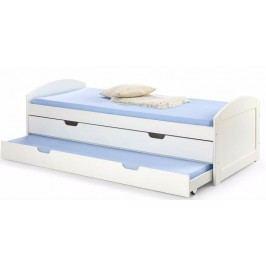 LAGUNA łóżko biały (3p=1szt)