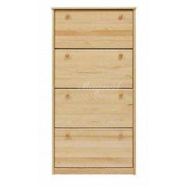 Dřevěný botník nr.1