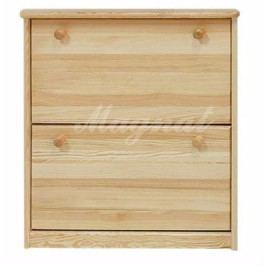Dřevěný botník nr.5