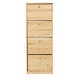 Dřevěný botník nr.2