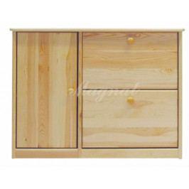 Dřevěný botník nr.18