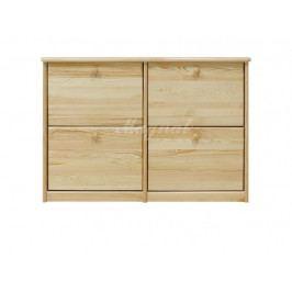 Dřevěný botník nr.17
