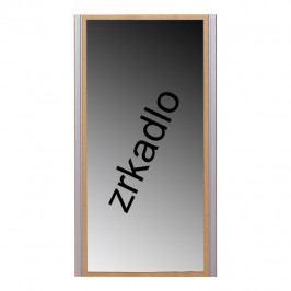 Zrcadlo, buk, stříbrné, LISSI TYP 09