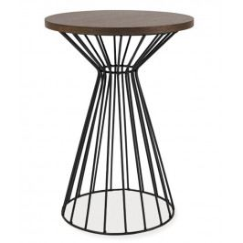 Konferenční stolek ALTA II ořech/černá