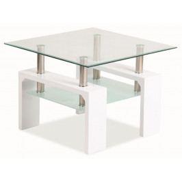 Konferenční stolek LISA D BASIC - bílý