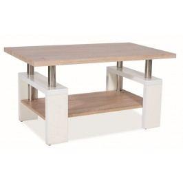 *Konferenční stolek LISA BIS MDF - bílý