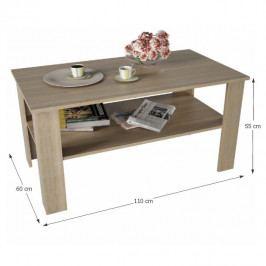 Konferenční stolek, dub sonoma, GAUDI