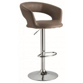 Barová židle KROKUS C-328 tmavě hnědá