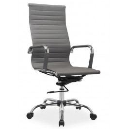 Kancelářská židle Q-040 šedá