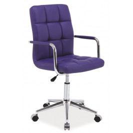 Kancelářská židle Q-022 fialová