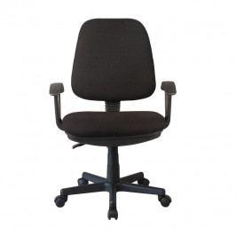 Kancelářská židle, černá, COLBY