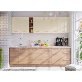Kuchyně LENA 260 písek/sonoma