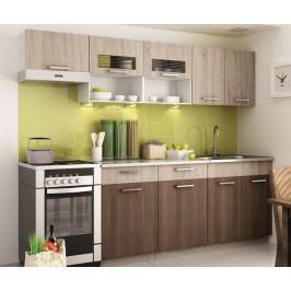 Kuchyně MORENO II 240 sonoma