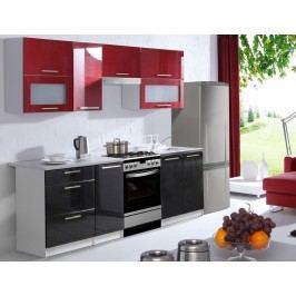 Kuchyně FLOWERS 240 červená