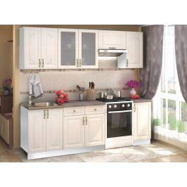 Kuchyně VICTORIE 240 bílý santál