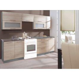 Kuchyně GOBI 240 s D40 dub sonoma/popel