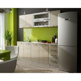 Kuchyňská linka, dub, IRYS ZS 2,0 m