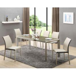 ARABIS stół rozkładany j.brąz/beżowy (2p=1szt)