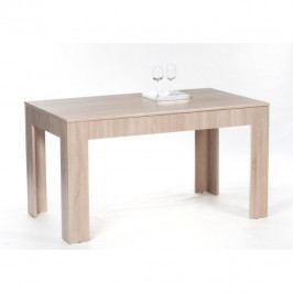 Jídelní stůl, rozkládací, dub sonoma, 140/180x80 cm, ADMIRAL