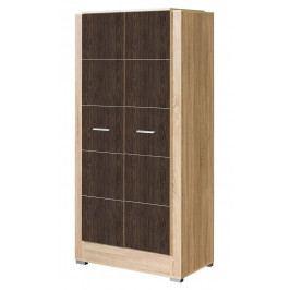 Šatní skříň CARMELO C22 sonoma/arusha