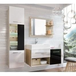 Koupelnová sestava ARUBA sonoma/černá