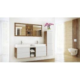 Koupelnová sestava BONITA bílá lesk