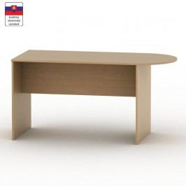 Kancelářský stůl s obloukem, buk, TEMPO AS NEW 022