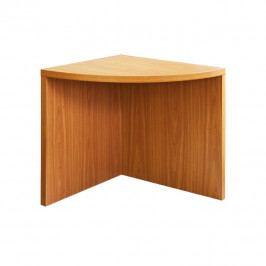 Rohový obloukový stůl, třešeň, OSCAR T05