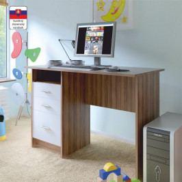 PC stůl, švestka bílá, SAMSON NEW