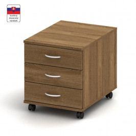 Kontejner 3 zásuvkový, dub bardolino, TEMPO AS NEW 016